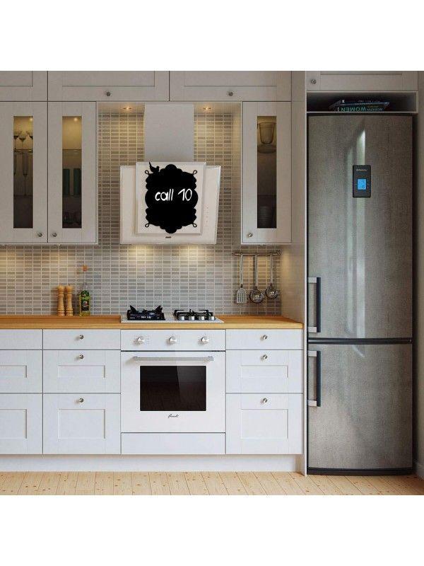 Frame - Memo Board for Kitchen - Magnetic Chalkboard for Fridge, Kitchen Blackboard Notepad, Weekly Planner BeCrea - 3