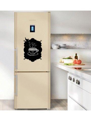 Frame - Memo Board for Kitchen - Magnetic Chalkboard for Fridge, Kitchen Blackboard Notepad, Weekly Planner BeCrea - 4