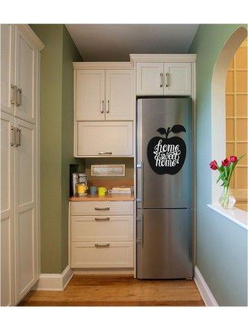 Apple - Memo Board for Kitchen - Magnetic Chalkboard for Fridge, Kitchen Blackboard Notepad, Weekly Planner BeCrea - 5