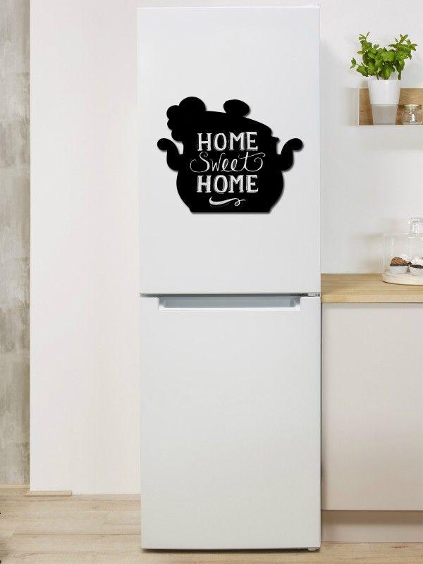 Pot - Memo Board for Kitchen - Magnetic Chalkboard for Fridge, Kitchen Blackboard Notepad, Weekly Planner BeCrea - 1