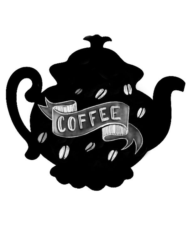 Krīta magneta delis Teapot BeCrea - 2