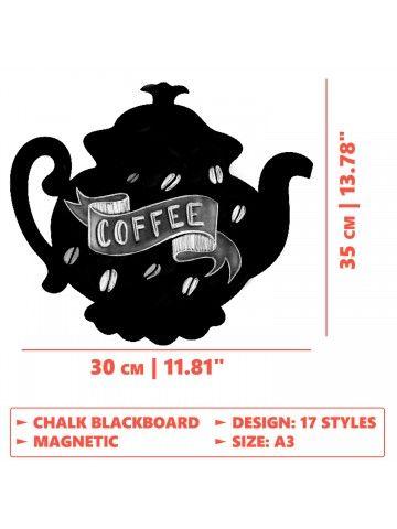 Меловая магнитная доска Teapot BeCrea - 4