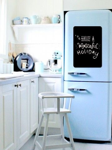 Menu - Memo Board for Kitchen - Magnetic Chalkboard for Fridge, Kitchen Blackboard Notepad, Weekly Planner BeCrea - 1