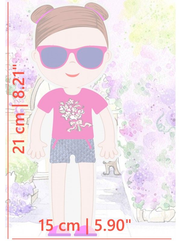 """Магнитная кукла-одевалка """"Маленькие модницы"""" - Amelia BeCrea - 4"""
