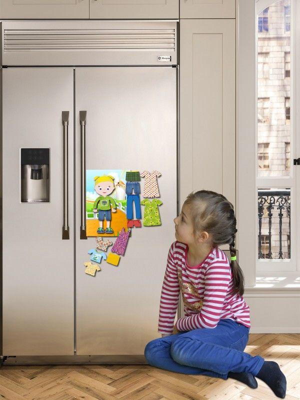 """Magneta lelles komplekts """"Stilīgie mazulīši"""" - Olivia BeCrea - 2"""
