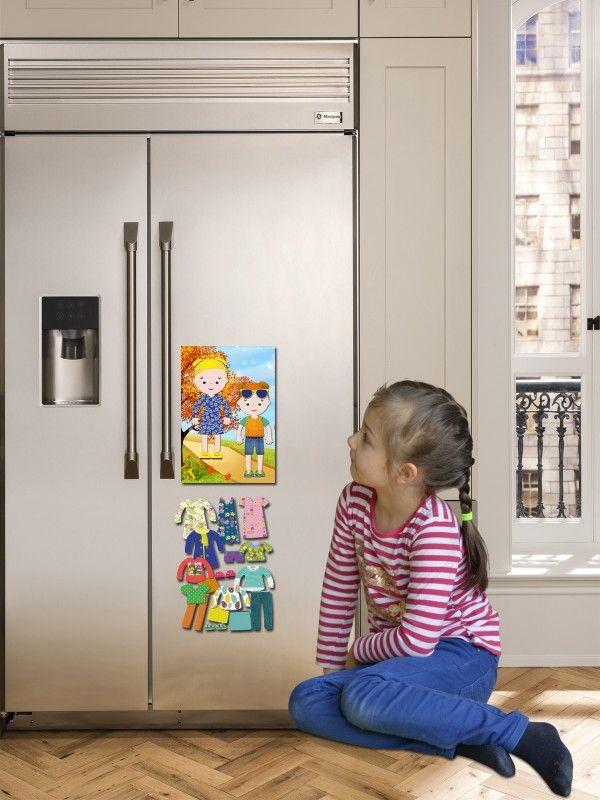 """Magneta lelles komplekts """"Stilīgie mazulīši"""" - Isabella & Sophia BeCrea - 3"""