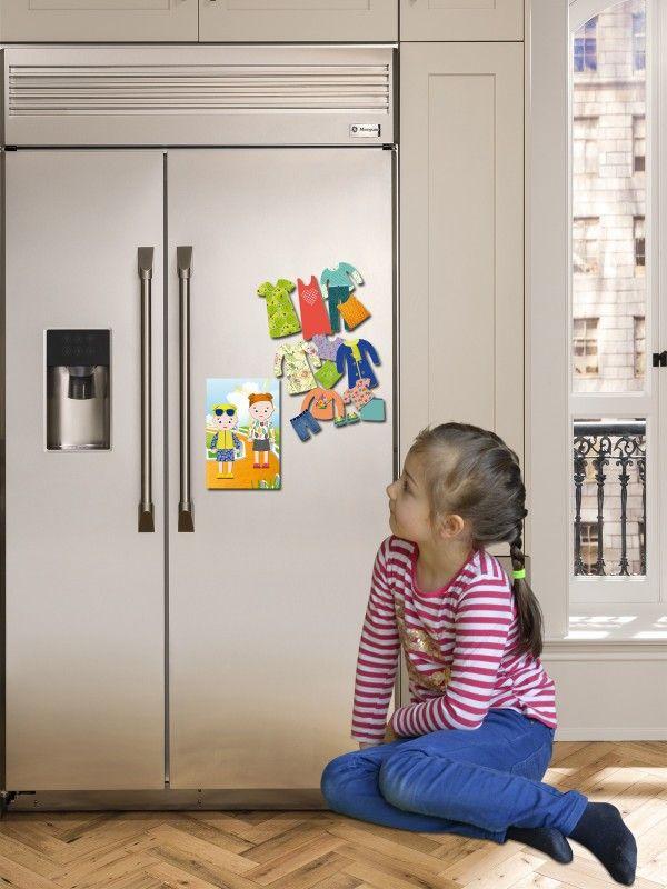 """Magneta lelles komplekts """"Stilīgie mazulīši"""" - Jessica & Ruby BeCrea - 4"""