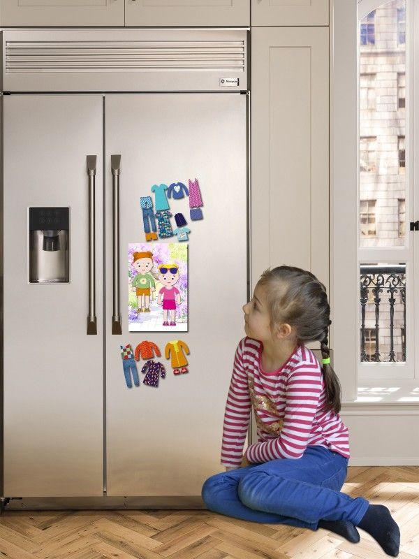 """Magneta lelles komplekts """"Stilīgie mazulīši"""" - Emily & Isabella BeCrea - 3"""