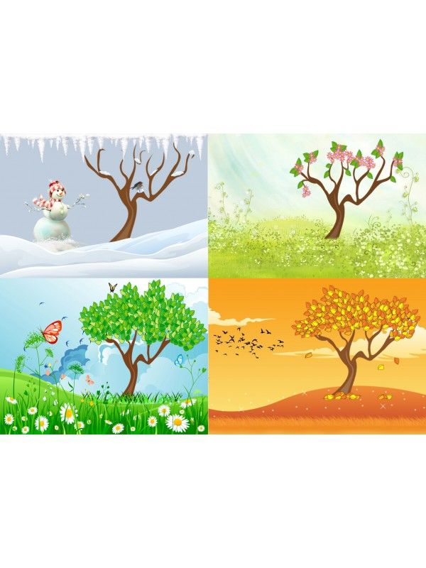 Magnetic Game - Seasons BeCrea - 2