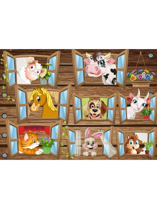Магнитная игра - Покорми животное BeCrea - 2