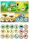 Gofrētas krelles - Attīstošās koka rotaļlieta