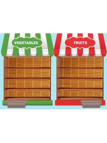 Magnetic Game - Fruits and vegetables BeCrea - 2
