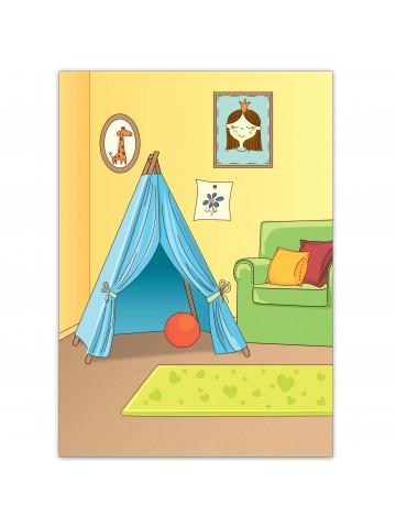 """Magneta lelles komplekts """"Stilīgie mazulīši"""" - Michelle BeCrea - 2"""