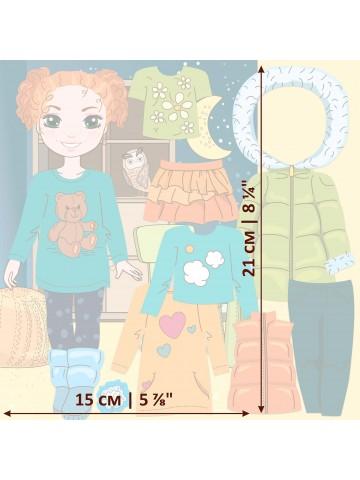 """Magneta lelles komplekts """"Stilīgie mazulīši"""" - Olivia BeCrea - 3"""