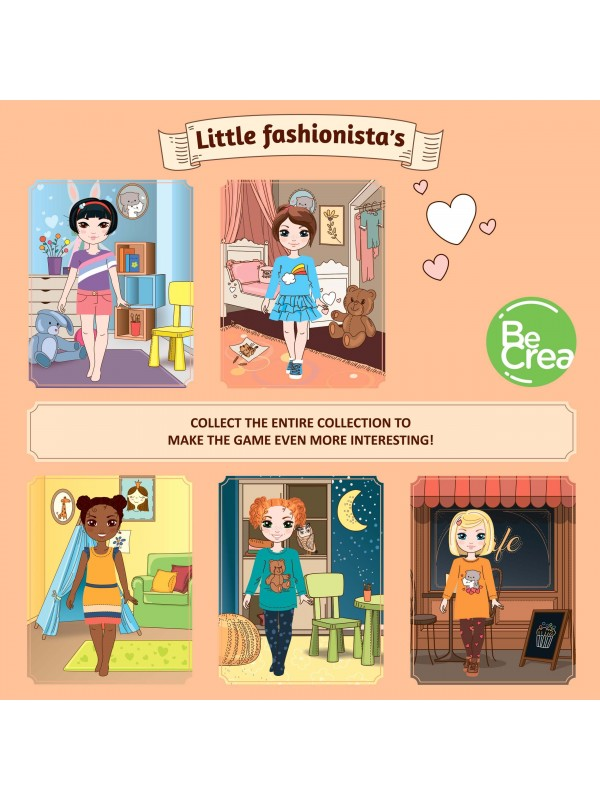 "Magnetic Dress-Up Doll ""Little Fashionista`s"" - Olivia BeCrea - 4"