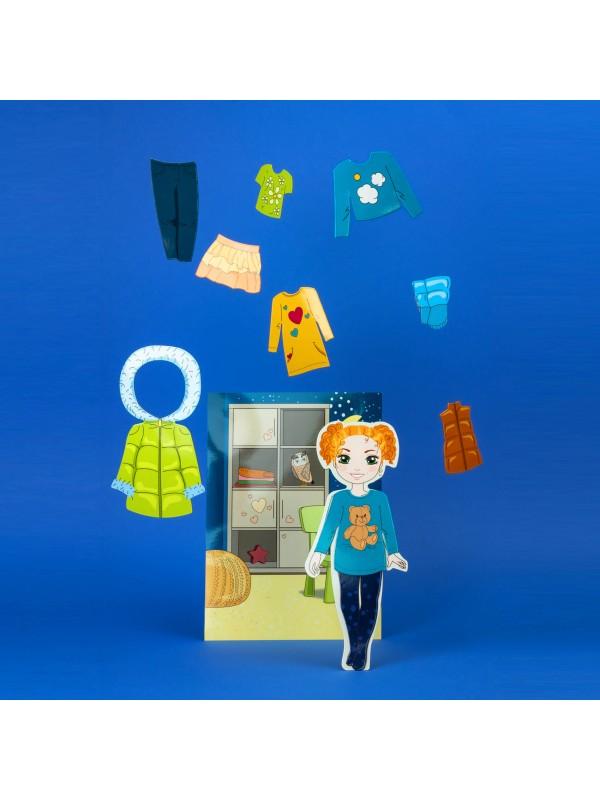 """Magneta lelles komplekts """"Stilīgie mazulīši"""" - Olivia BeCrea - 4"""