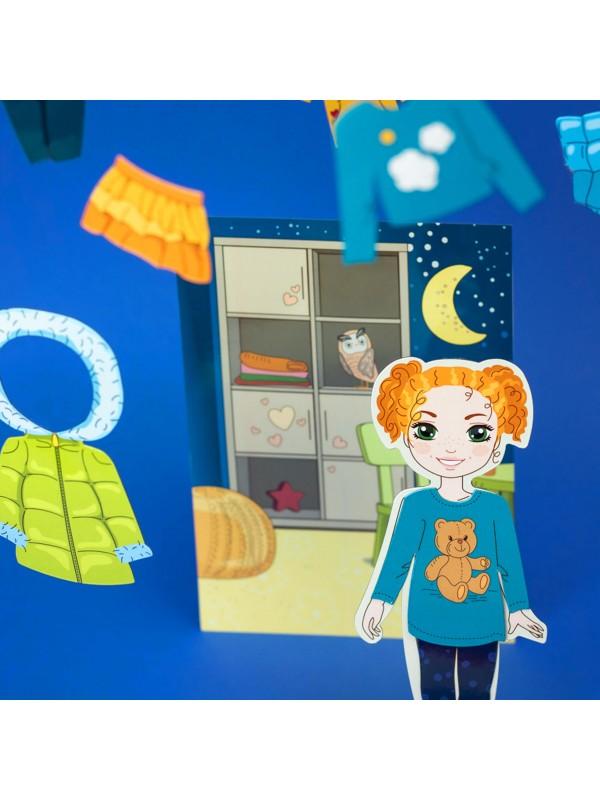"""Magneta lelles komplekts """"Stilīgie mazulīši"""" - Olivia BeCrea - 6"""