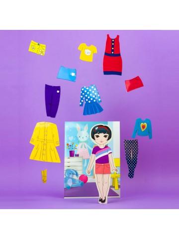 """Магнитная кукла-модель """"Маленькие модницы"""" - Mia BeCrea - 4"""