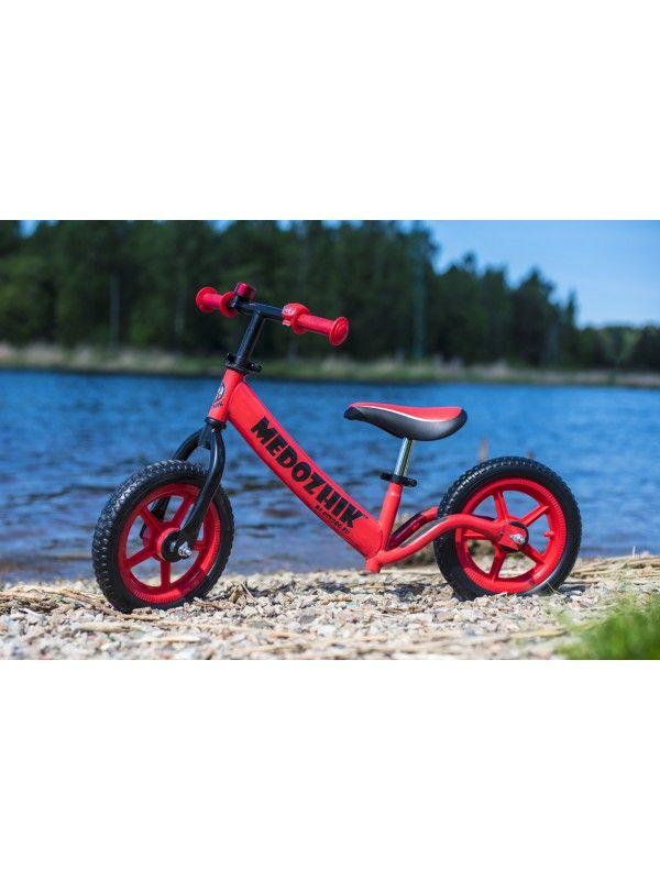 Balance bike - Snow scooter Medozhik X Red Medozhik - 2