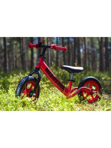 Balance bike - Snow scooter Medozhik X Red Medozhik - 3