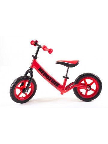 Balance bike - Snow scooter Medozhik X Red Medozhik - 4