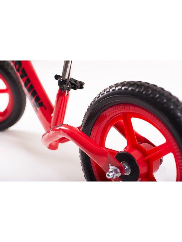 Balance bike - Snow scooter Medozhik X Red Medozhik - 5