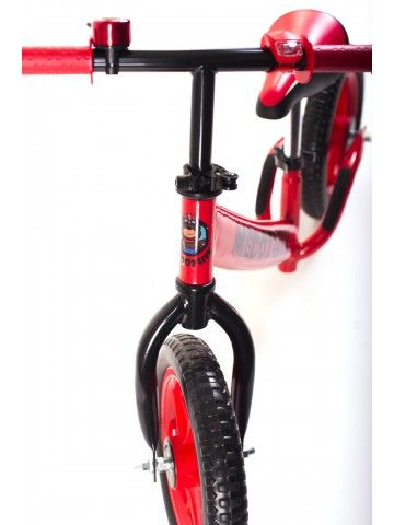 Balance bike - Snow scooter Medozhik X Red Medozhik - 6