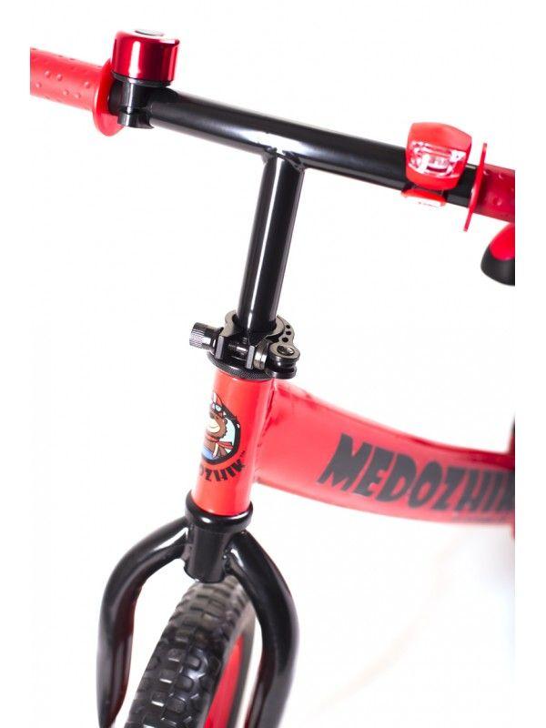 Balance bike - Snow scooter Medozhik X Red Medozhik - 8