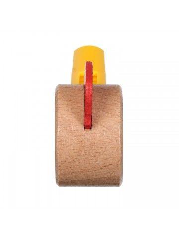 Свисток жёлтый - обучающие деревянные игрушки Lucy&Leo Lucy&Leo - 6