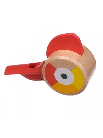 Whistle red - educational wood toys Lucy&Leo Lucy&Leo - 1