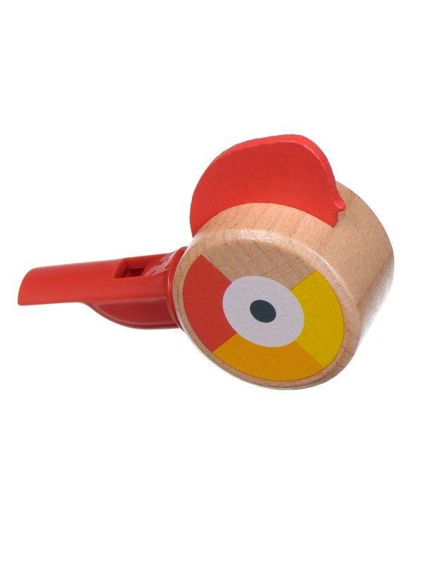 Свисток красный - обучающие деревянные игрушки Lucy&Leo Lucy&Leo - 1