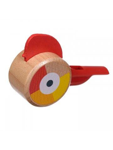 Свисток красный - обучающие деревянные игрушки Lucy&Leo Lucy&Leo - 2