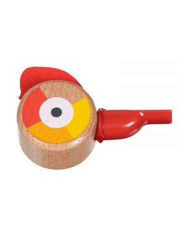 Свисток красный - обучающие деревянные игрушки Lucy&Leo Lucy&Leo - 3