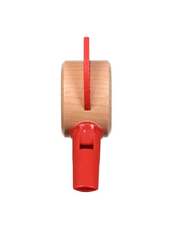 Свисток красный - обучающие деревянные игрушки Lucy&Leo Lucy&Leo - 5