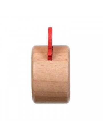 Свисток красный - обучающие деревянные игрушки Lucy&Leo Lucy&Leo - 6