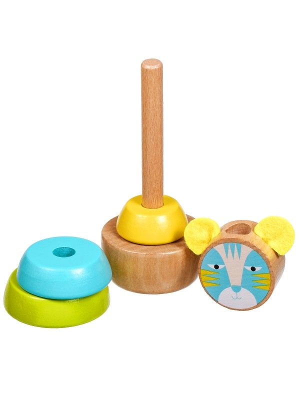 Cat Pyramid - educational wood toys Lucy&Leo Lucy&Leo - 3