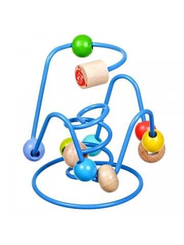 Bead Labyrinth Nr.6 - Educational wood toys Lucy&Leo Lucy&Leo - 3