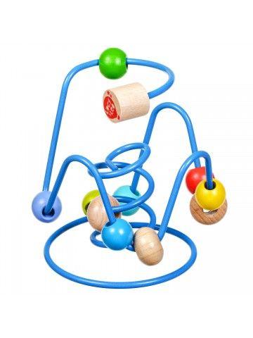 Лабиринт с бусинками Nr.6 - Обучающие деревянные игрушки Lucy&Leo Lucy&Leo - 3