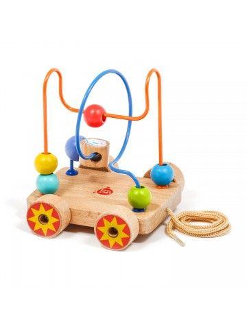 Каталка лабиринт Nr.2 - обучающие деревянные игрушки Lucy&Leo Lucy&Leo - 1