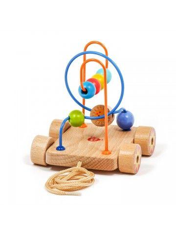 Car Labyrinth Nr.2 - educational wood toys Lucy&Leo Lucy&Leo - 3