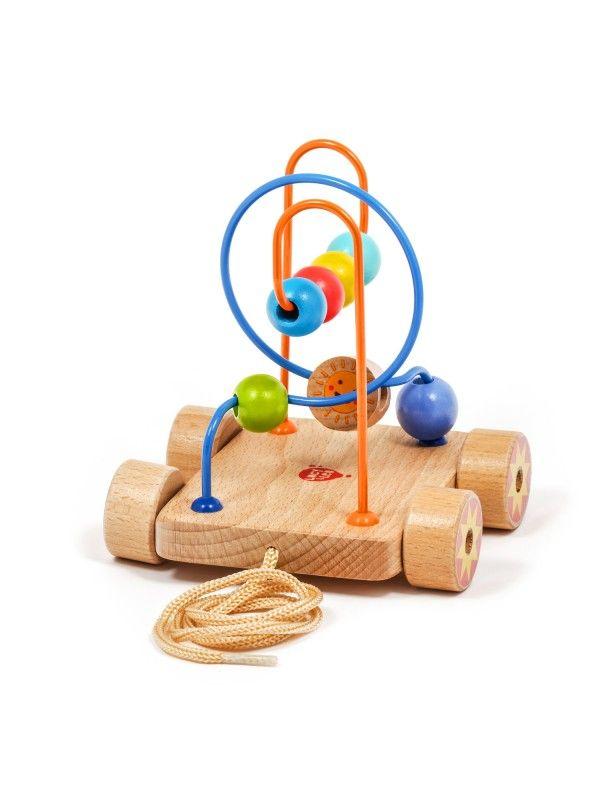 Velkamā rotaļlieta labirints Nr.2 - Attīstošās koka rotaļlieta Lucy&Leo Lucy&Leo - 3