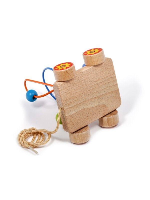 Car Labyrinth Nr.2 - educational wood toys Lucy&Leo Lucy&Leo - 4