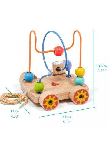 Car Labyrinth Nr.2 - educational wood toys Lucy&Leo Lucy&Leo - 2