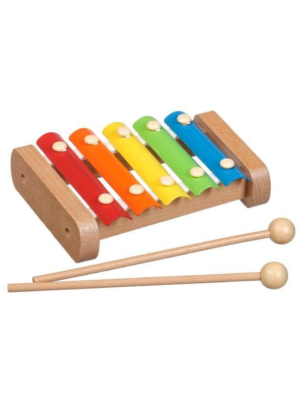 Ksilofons - Attīstošās koka rotaļlieta Lucy&Leo Lucy&Leo - 1