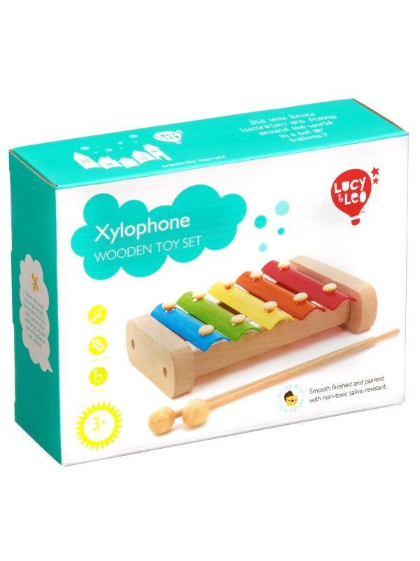 Ksilofons - Attīstošās koka rotaļlieta Lucy&Leo Lucy&Leo - 6