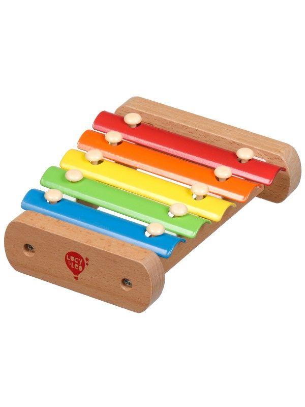 Ksilofons - Attīstošās koka rotaļlieta Lucy&Leo Lucy&Leo - 3