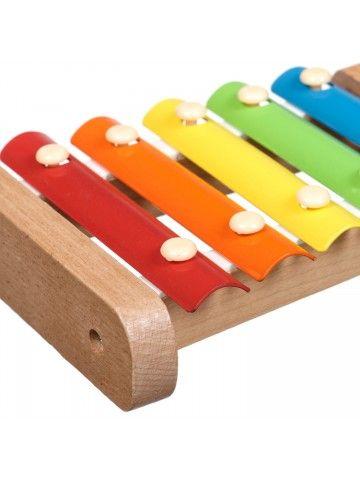 Ksilofons - Attīstošās koka rotaļlieta Lucy&Leo Lucy&Leo - 4