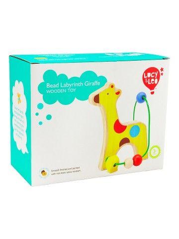 Labirints Žirafe - Attīstošās koka rotaļlieta Lucy&Leo Lucy&Leo - 3