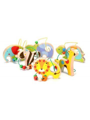Лабиринт Зебра - обучающие деревянные игрушки Lucy&Leo Lucy&Leo - 5