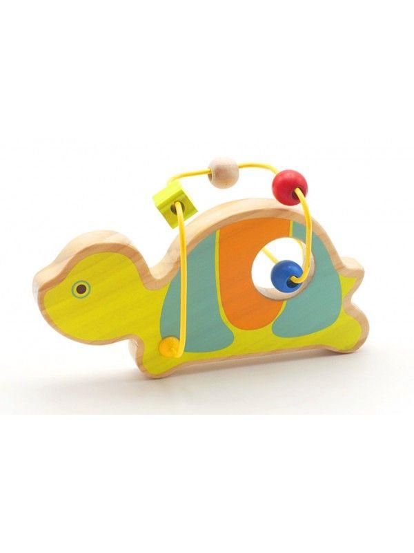 Лабиринт Черепаха - обучающие деревянные игрушки Lucy&Leo Lucy&Leo - 3
